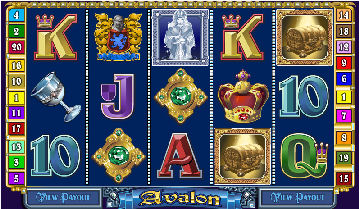 Avalon Poker Machine Screenshot
