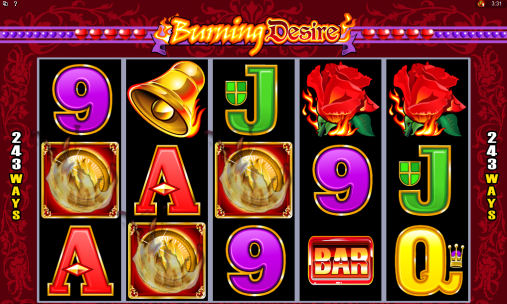 Burning Desire Poker Machine Feature Trigger