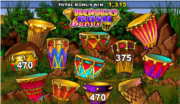 Bush Telegraph Poker Machine Bonus Feature