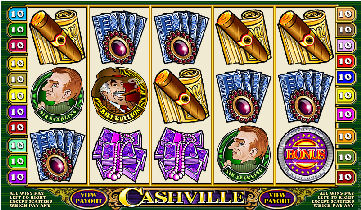 Cashville Bonus Poker Machine