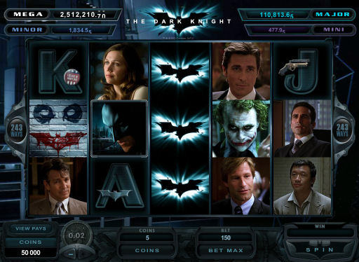 The Dark Knight Batman Poker Machine