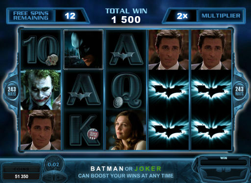 Batman Online Pokies - Free Spins Feature