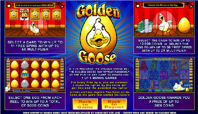 Golden Goose Feature Screens