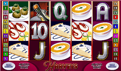 Click to Play Harveys Poker Machine at Lucky Nugget