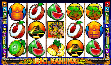 Big Kahuna Poker Machine
