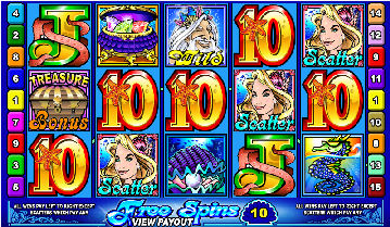 Mermaids Millions Video Pokies - Free Spins
