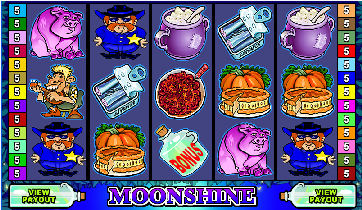 Hillbilly Moonshine Online Poker Machine