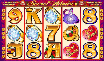 Secret Admirer Video Pokies - Bonus Respins