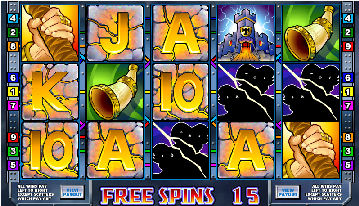 Thunderstruck Video Pokies - Bonus Free Spins